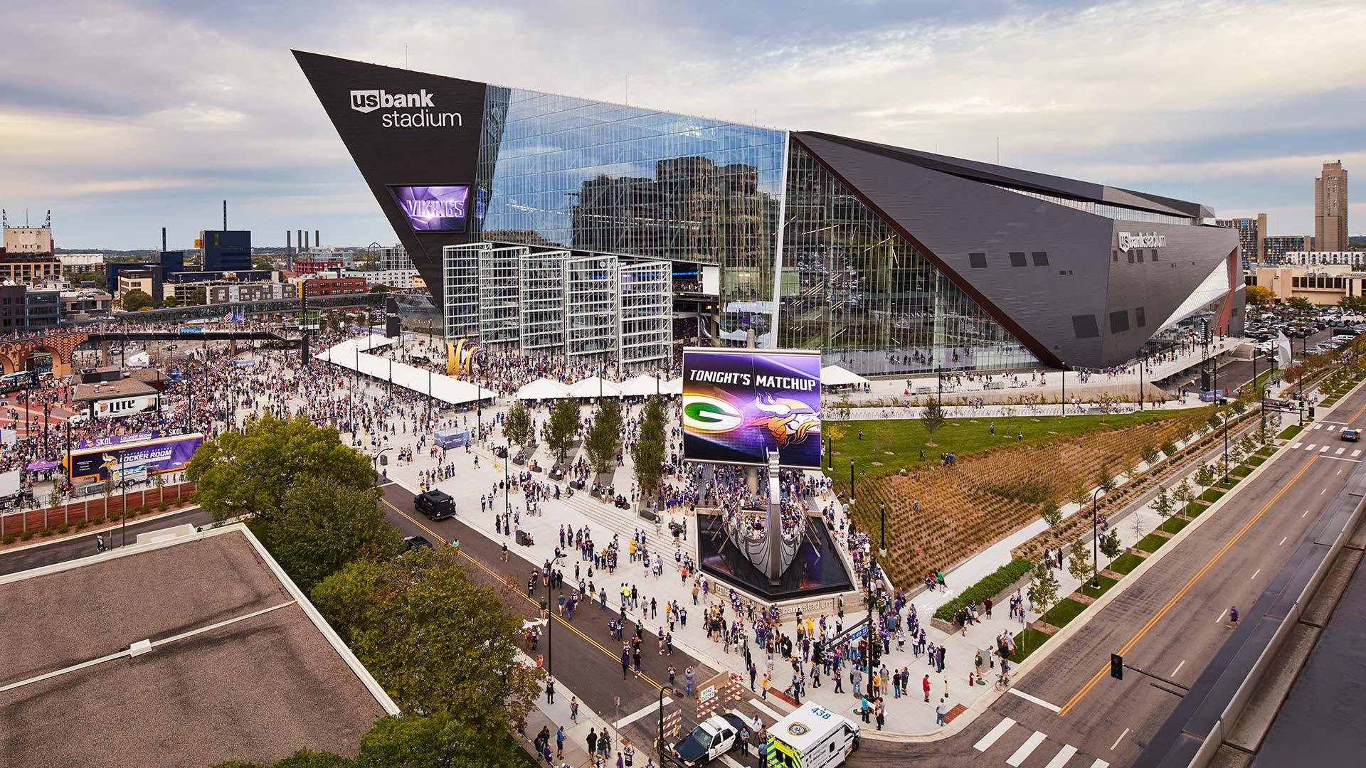 Jlg Architects Us Bank Stadium