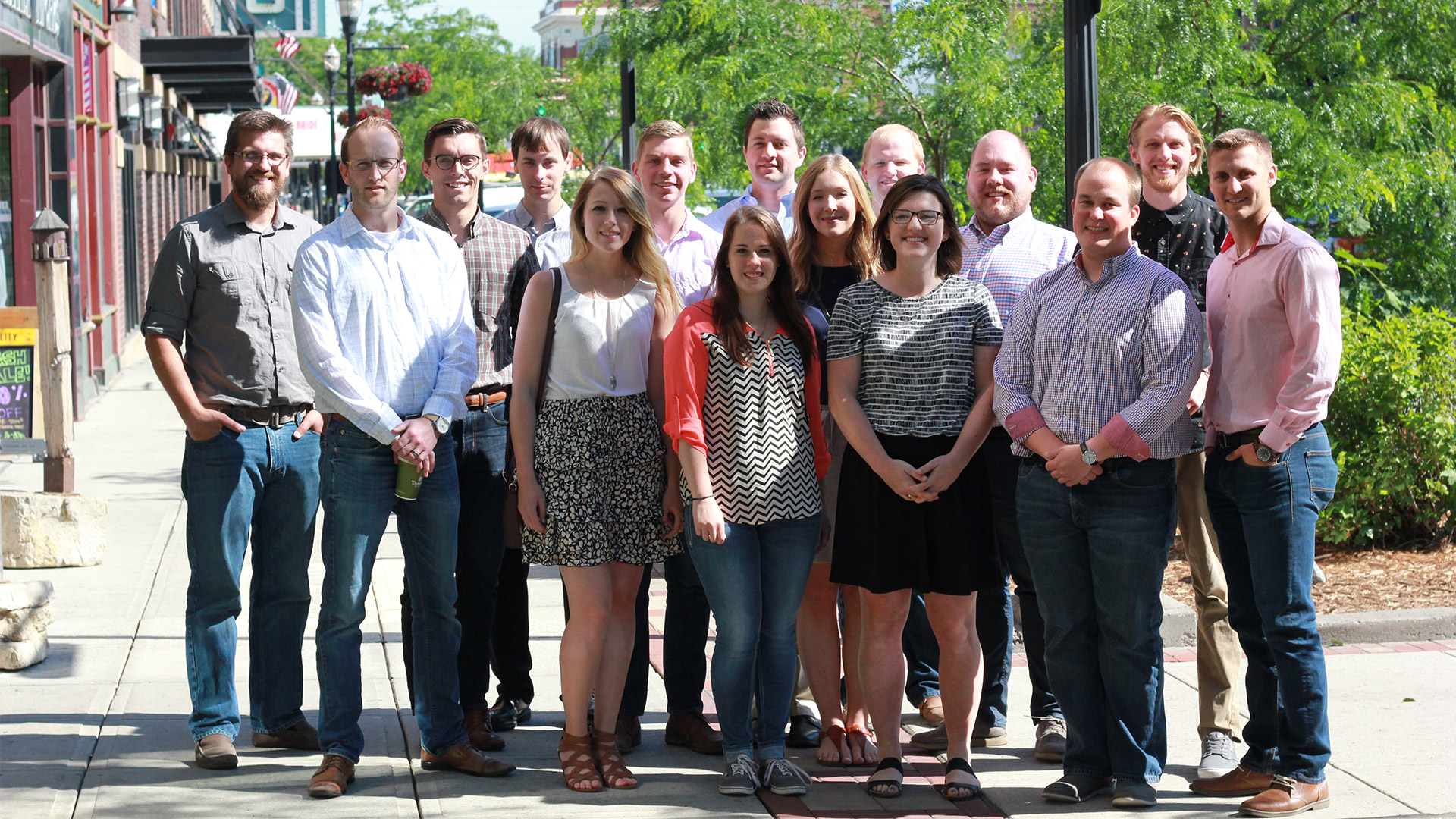 Group of people who have gone through the JLG DNA program