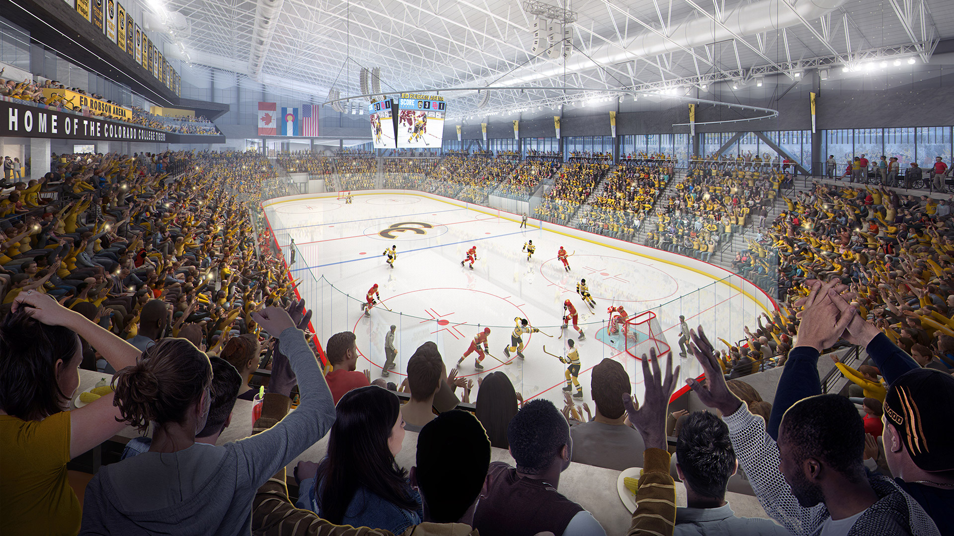 JLG has been named the Best Ice Hockey Arena Architects