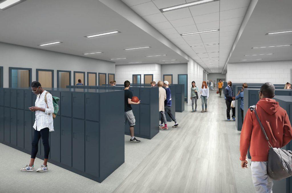 JLG Universal Locker Room Concept