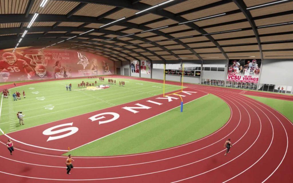JLG Valley City Athletic Upgrade Interior