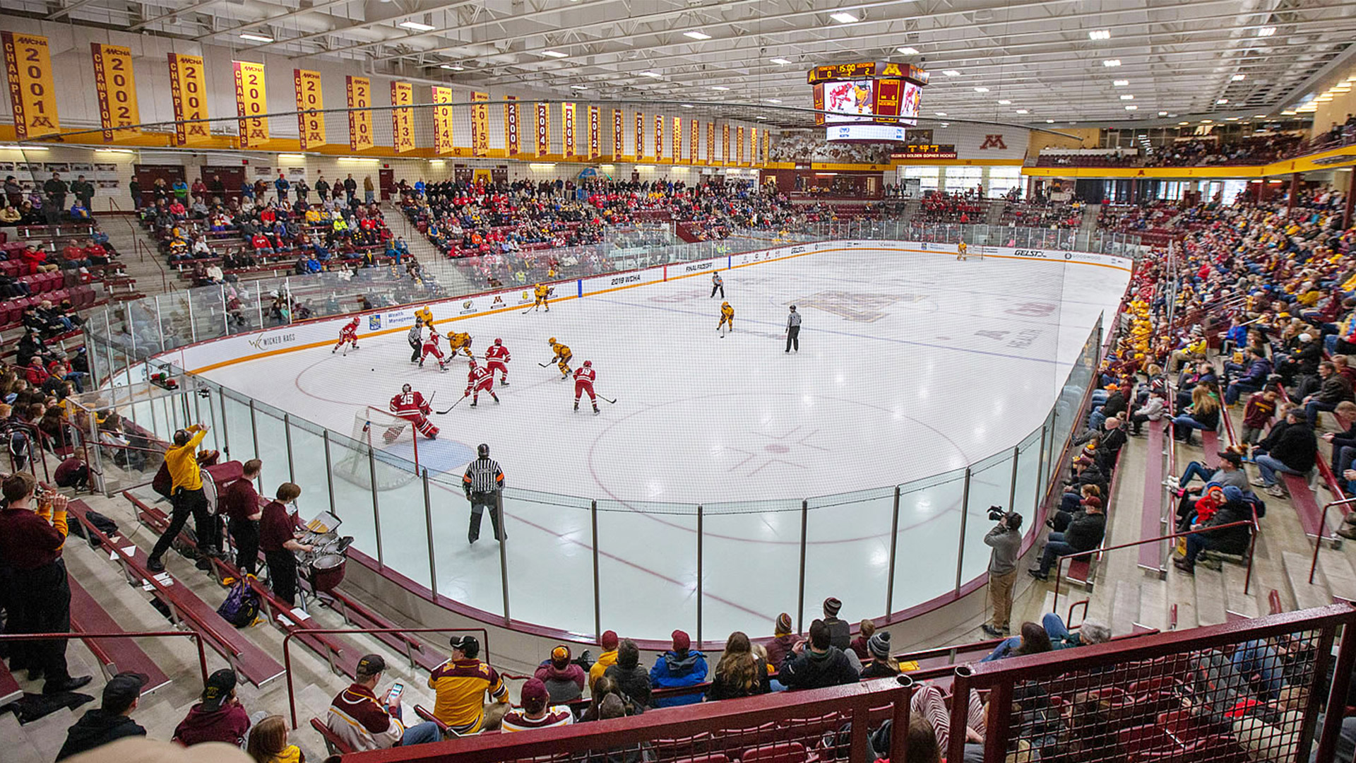 Ridder Arena extended view