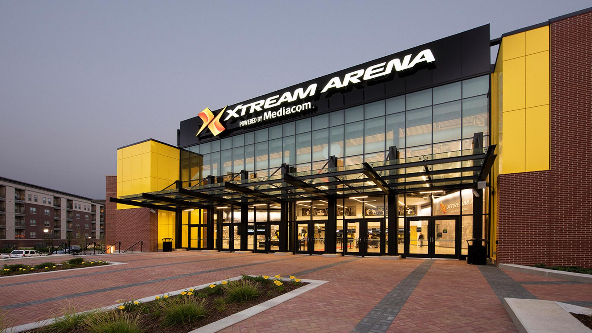 Xstream Arena Exterior
