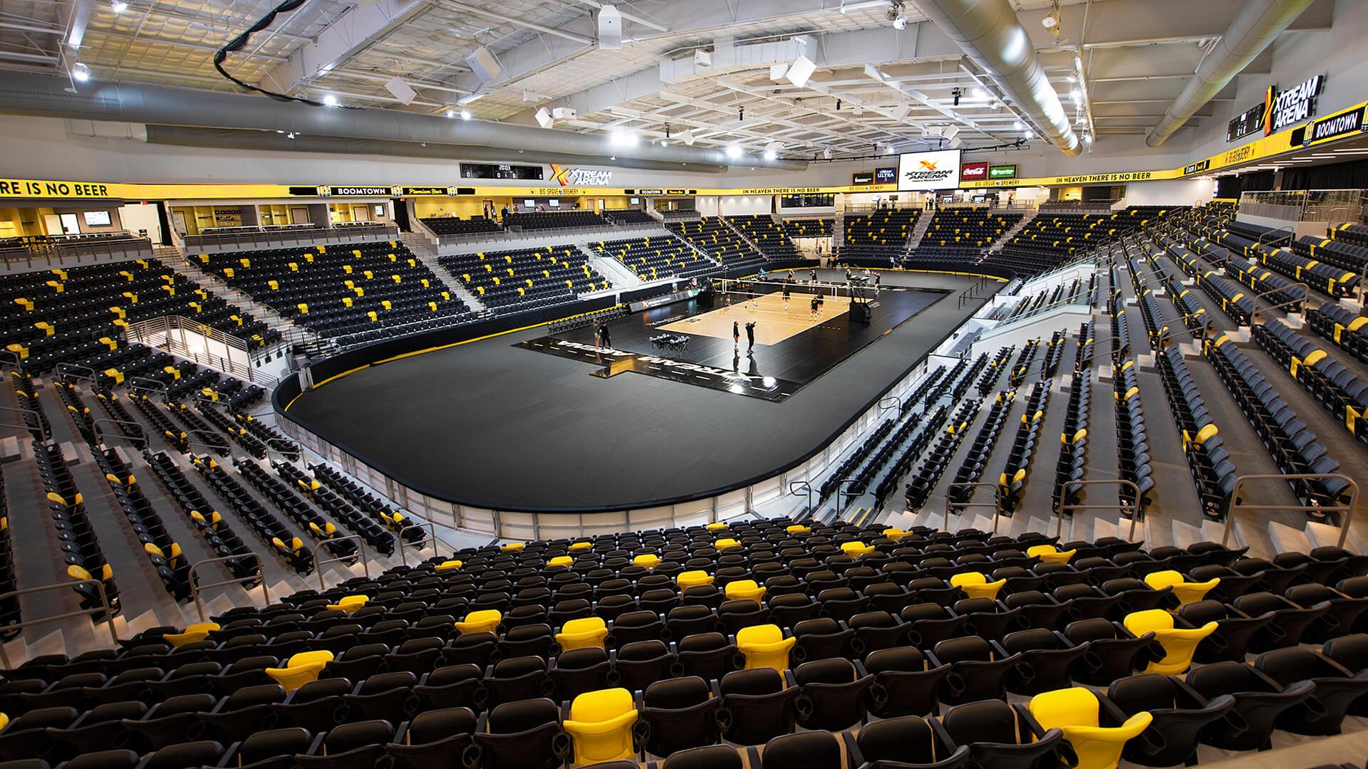 Xstream Arena Slider